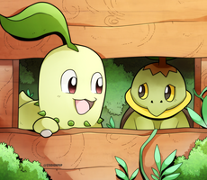 Come on, Turtwig! by Desinho