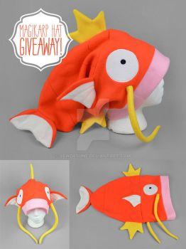 Magikarp Hat Giveaway! [Closed] by SewDesuNe