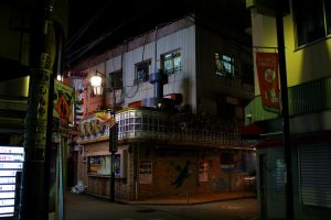nightlife in tokio by TheScratcher