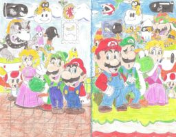 Mario Generations by Banjo-Geek