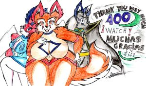 400 wacther :D by wolf1818
