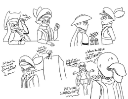 Splatoon Doodles: Let's Bug Arnick by IceCold64