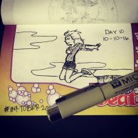 Project: Inktober 2016 -day 10- by mscherbear