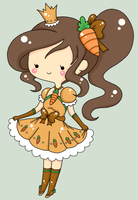 Princess Carrot Cake : Adventure Time FC by Minessa