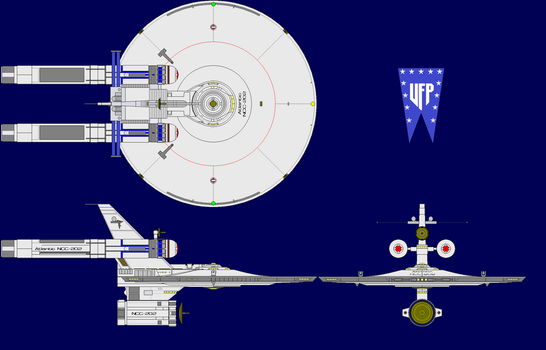 USS Atlantic NCC-202 by etccommand