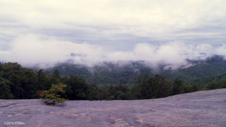 View of Cedar Rock from Stone Mountain by f700es