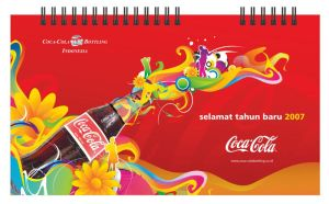 Coke Calendar's Cover by halfnaked