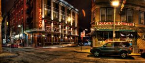 Boston: Salem Street. by inbrainstorm