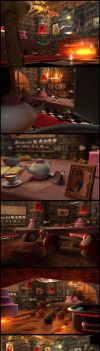 Bowser's Kitchen by AnnickHuber