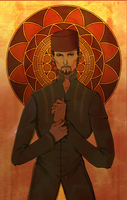 The Rosy Hours of Mazenderan: the Persian by Solitaire-Me