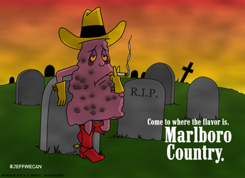 Jeff the Diseased Lung Cowboy by generalmanx
