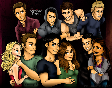 The Vampire Diaries by greciiagzz