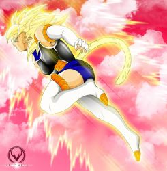 SUPER SAIYAN VELIA by ERIC-ARTS-inc