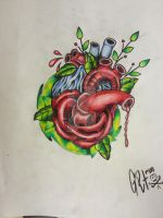 the heart of the rose by BMXNINJA