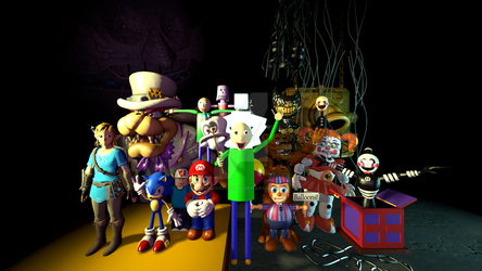 The ULTIMATE sfm poster !!! by Endoskeleton64