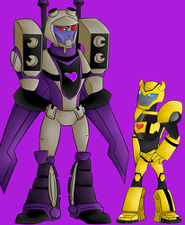 Icy and Bumblebee by Fast-Track-TFP