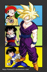 Son Gohan (Etapas) - Dragon Ball Z by FaBrY33