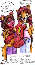 Teddy and Amber 1 by BEAR2041