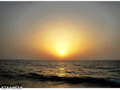 Sunset, Red Sea 003 by KINGTEAM