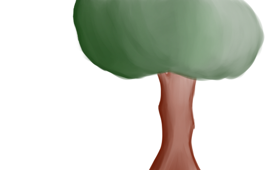 Feb Color Attemp #1 Tree WIP by sappels