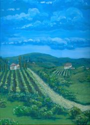 Tuscan Countryside by kaleidescape