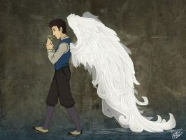 SPN - walking wing by Octorin