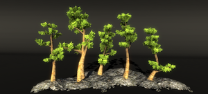 Realistic Tree 15 by RakshiGames