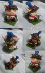 Captain Teemo figurine by Zanten