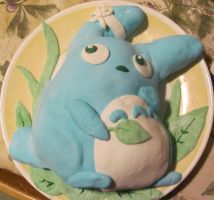 Totoro cake of love and smiles by GrayWolfShadow