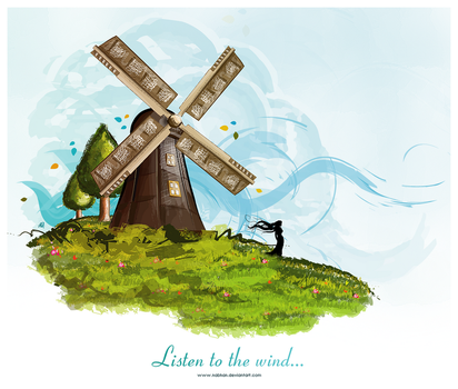 Listen to the wind.. by NaBHaN