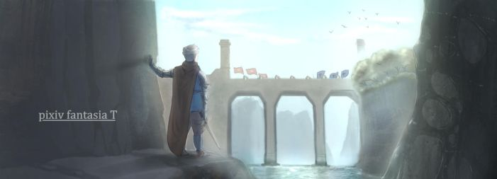 [Pixiv Fantasia T] Silence at the Bridge by not-teo