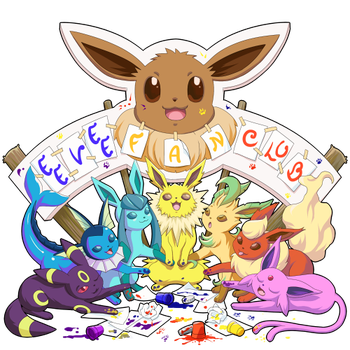 Eevee Fan Club ID by AndrePaz
