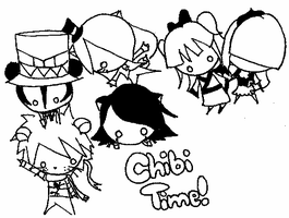Chibi Time by MikeyWayluver013