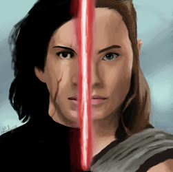 The Last Jedi : connected by Lisly227