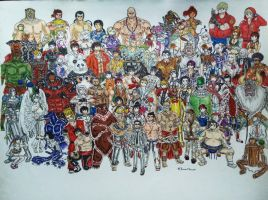 Tekken Characters  by ThemawtArcsion