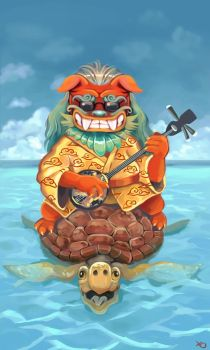 King Shisa by PoisonHeaven