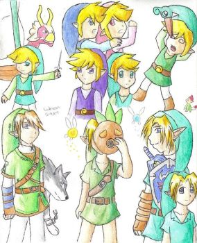 OoT-TP Links by lLuthy