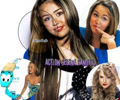 Action Selena Candy by Forever-editt