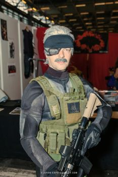 Metal Gear Solid 4 Old Snake Clone by Gollum-net