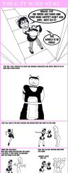 Cat Maid Meme by Taigan