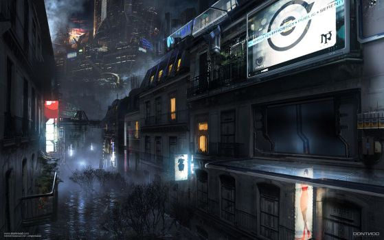 Dontnod - Adrift conceptart 07 by paooo