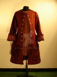 Red Storyeller's Frockcoat by RobynGoodfellow