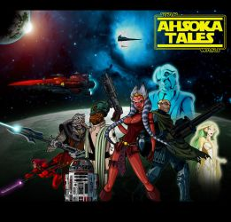 Ahsoka Tales Anime Cartoon by The-First-Magelord