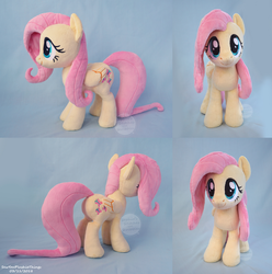 Fluttershy Large Plush by SewYouPlushieThings