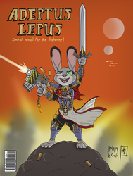 ADEPTUS LEPUS - The Story of the Farmland's Battle by HyenaTig