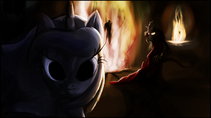 Luna, Princess of the Night and of the First Pone by AaronMk