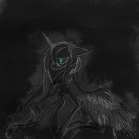 Dark side of the moon by NamelessIMoonlight