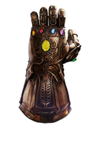 Infinity Gauntlet - Transparent! by Camo-Flauge