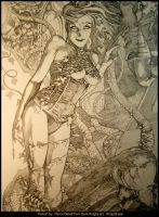 Poison Ivy- Pencil by andybrase