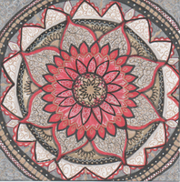Game of Thrones Lannister Mandala by allysorge